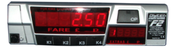 digitax F2 Taxi Meter